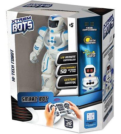 Robô Hi-Tech - X Trem Bots - Smart Bot - Fun