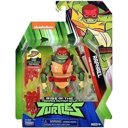 Figuras de Ação - Tartarugas Ninjas - Raphael - 12cm -Sunny