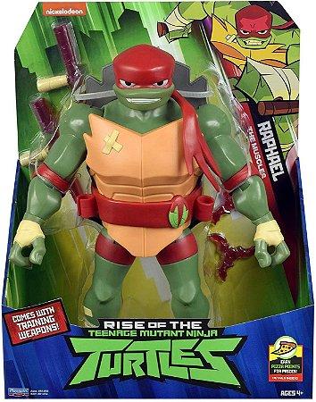 Figura Gigante - Tartarugas Ninjas - Raphael - 30cm - Sunny