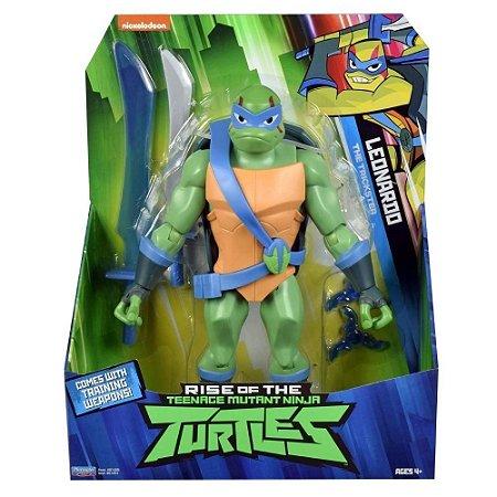 Figura Gigante - Tartarugas Ninjas - Leonardo - 30cm - Sunny