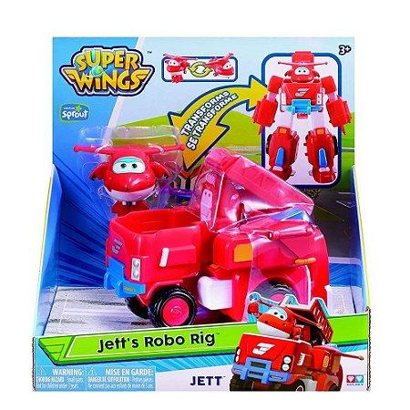 Super Wings - Transformação Jett - Fun