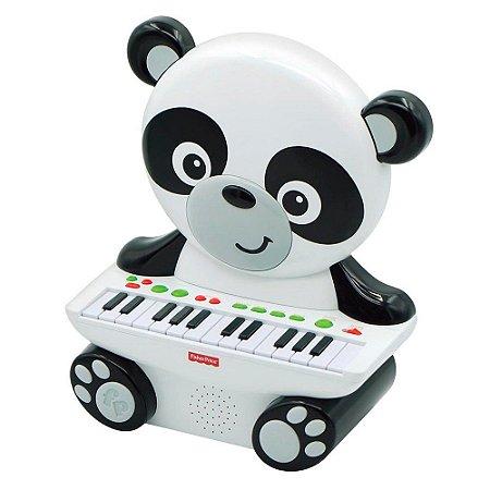 Teclado Infantil - 25 Teclas - Panda Piano - Teclado Pandinha - Fisher-Price - Fun