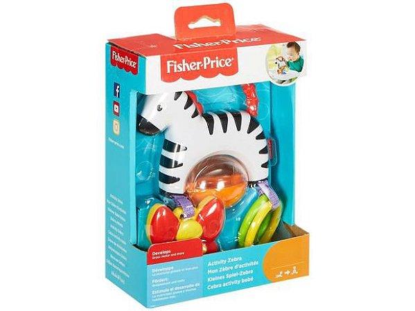 Zebrinha de Atividades - Fisher Price - Mattel