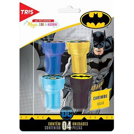Carimbo Auto Entintado Batman - 4 unidades - Tris