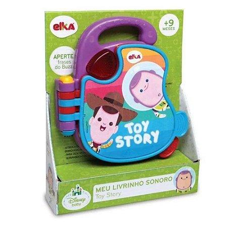 Brinquedo Musical - Meu Livrinho Sonoro - Toy Story - Elka