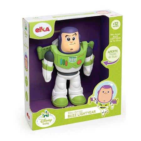 Boneco Meu Amigo Buzz LighTyear - Toy Story - Elka