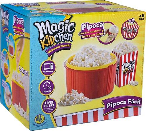 Pipoca Fácil - para Microondas - Magic Kidchen - DTC