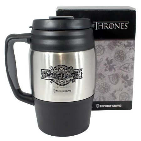 Caneca Barril - Game Of Thrones - 1 Litro - Zona Criativa