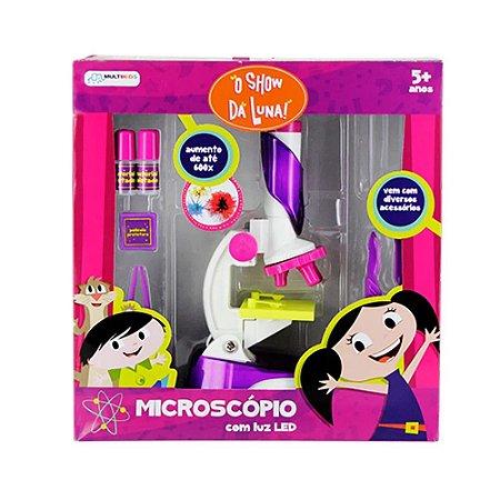 Microscópio Infantil - O Show da Luna! - com Luz LED - Multikids