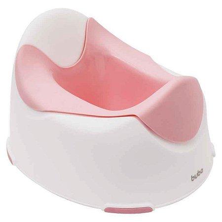 Troninho Infantil - Penico - Antiderrapante - Rosa Baby - Buba