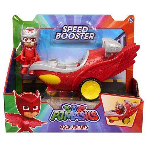Veículo Planador Corujita - Speed Booster - Pj Masks - DTC