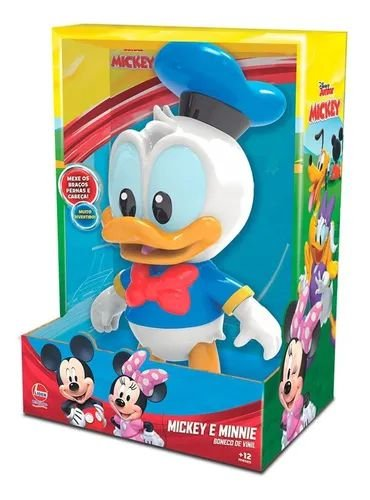 Boneco Pato Donald - Vinil - Baby - Lider