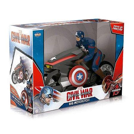 Moto de Fricção - Capitão América - Guerra Civil - Toyng