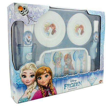 Kit Dinner - Conjunto de Cozinha Frozen - 13 Peças - Toyng