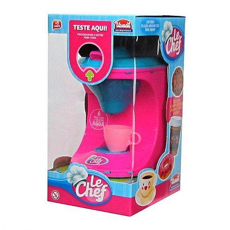 Cafeteira Infantil - Le Chef - com Luz e Som - Usual Brinquedos