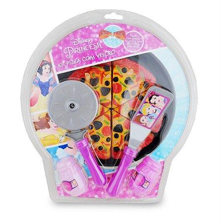 Kit Pizza com Velcro - Princesas - Toyng