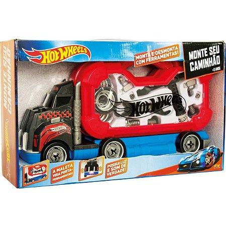 Hot Wheels - Monte seu Caminhão - FUN