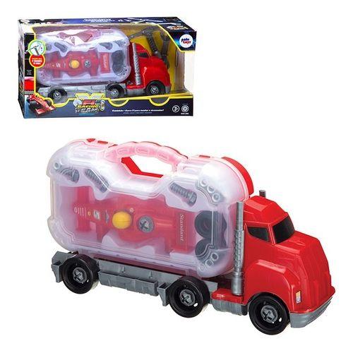 Caminhão Fórmula 1 - Racing Team - Paki Toys