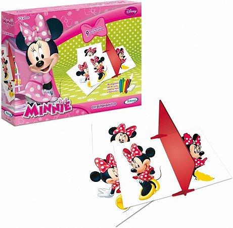 Jogo Desenhando - Minnie - Disney - Xalingo