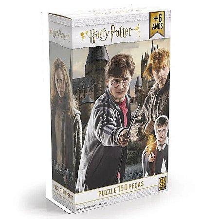 Quebra-Cabeça - Harry Potter - 150 Peças - Grow