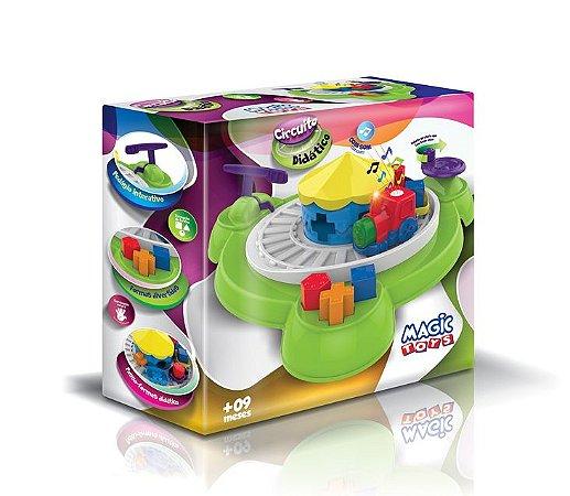 Circuito Didático - Trem com Luz e Som - Magic Toys