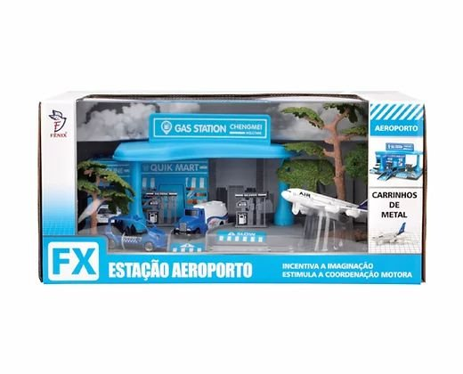 Estação Aeroporto - Carrinhos de Metal - Fenix