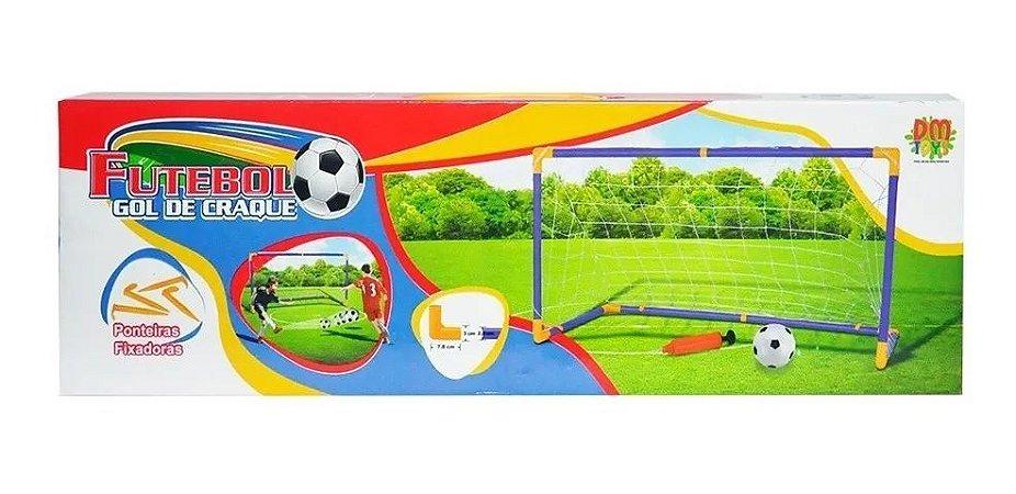 Trave Infantil - Futebol Gol de Craque - Dm Toys