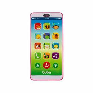 Baby Phone - Celular Infantil - Rosa - Buba