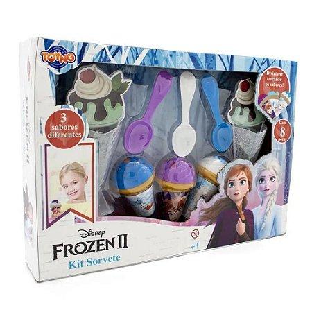 Brinquedo Kit Sorvete - Frozen II - 8 Peças - Toyng