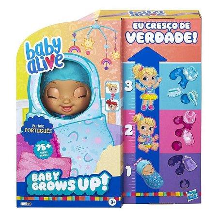 Boneca Baby Alive - Baby Grows Up - Cresce de Verdade - Hasbro