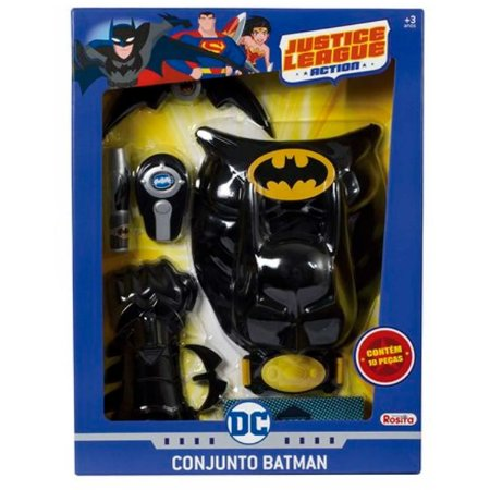 Conjunto Batman - Liga da Justiça - 10 peças - Rosita