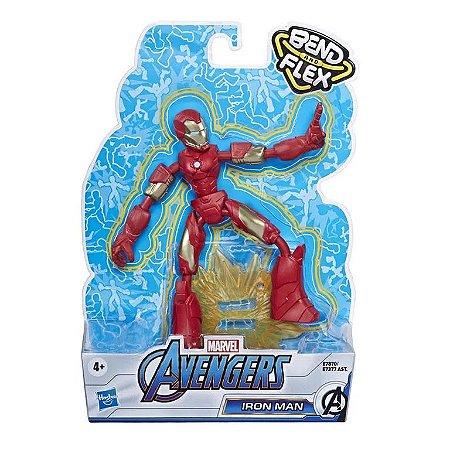 Boneco Homem de Ferro - Bend and Flex - Marvel - Hasbro