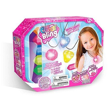 Color Blings - Mega Kit Pingente com Luz - Dican