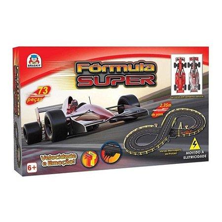 Autorama Fórmula 1 - Elétrico - Fórmula Super - Braskit