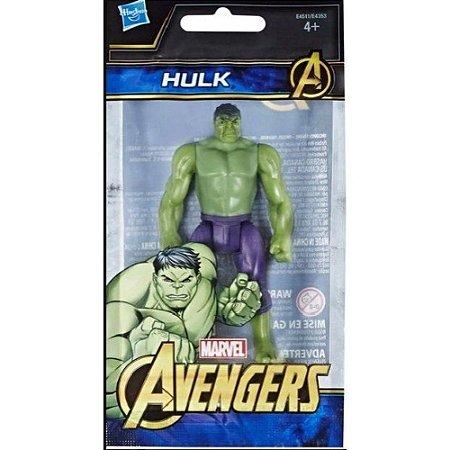Mini Boneco Hulk - 10 cm - Avengers - Marvel - Hasbro