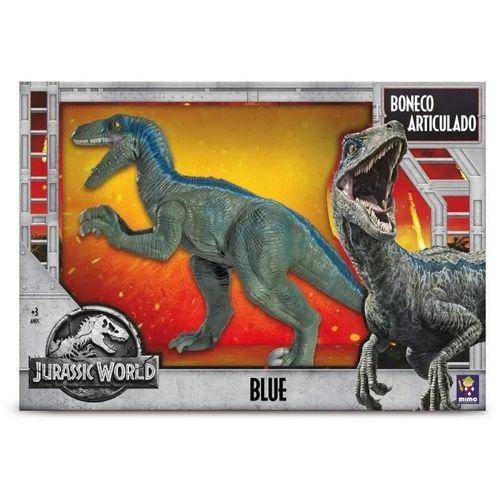 Dinossauro Articulado - Blue - Jurassic World - Mimo Brinquedos