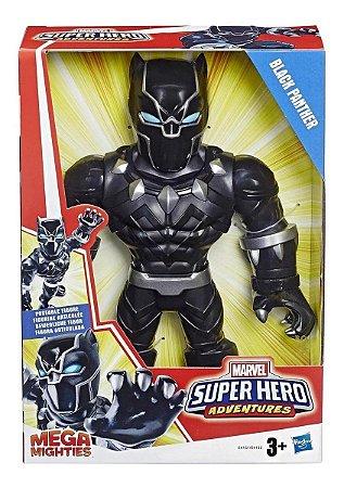 Boneco Pantera Negra - Articulado - Playskool Heroes - Hasbro