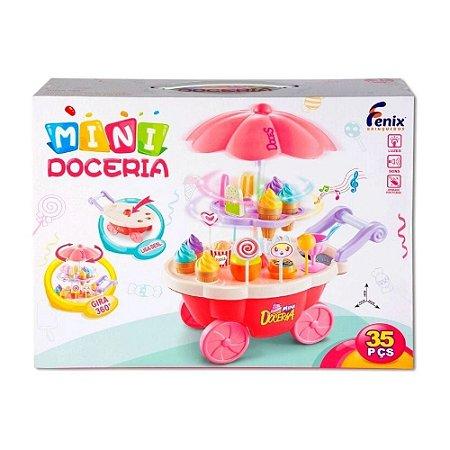 Carrinho Mini Doceria - Fenix Brinquedos