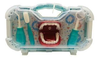 Maleta Mini Dentista - 5 Peças - Paki Toys