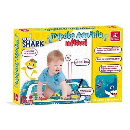 Tapete Aquário Inflável - Club Shark - infantil - Brincadeira de Criança