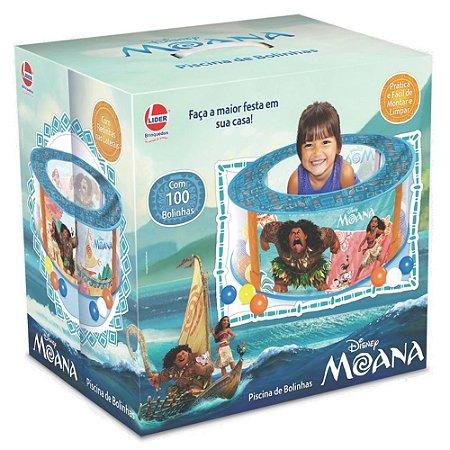 Piscina de Bolinhas - Moana - 100 Bolinhas - Lider