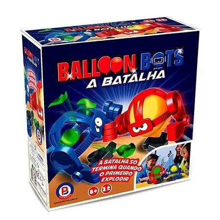 Jogo Balloon Bots Batalha - Polibrinq