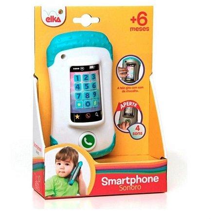 Smartphone Sonoro Infantil - +6m -Elka
