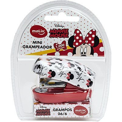 Grampeador Mini - Minnie Mouse - 26/6 - Molin