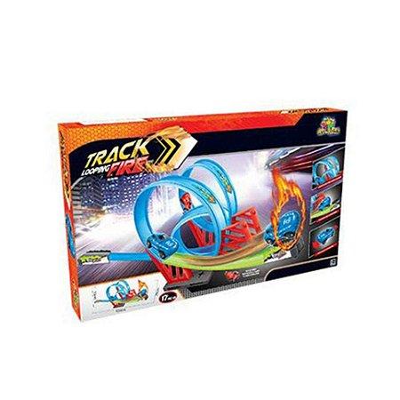 Pista Track Looping Fire - Art Brink