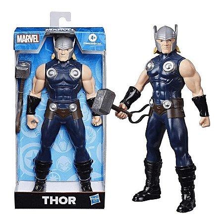 Boneco Thor com Martelo - 25cm - Marvel - Hasbro