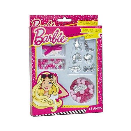 Kit Miçangas Pink - Barbie - Fun