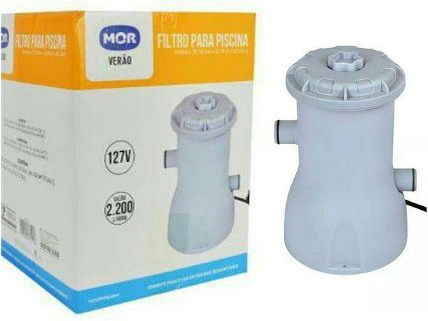 Filtro para Piscina - 220V - Mor
