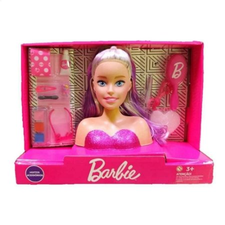 Busto da Boneca Barbie - Styling Faces - Pupee