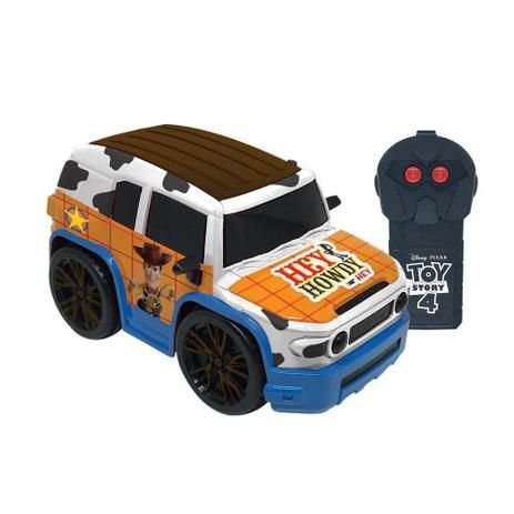 Carro de Controle Remoto - Team Racer - Xerife Wood - Toy Story 4 - Candide